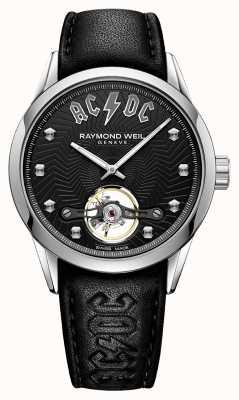 Raymond Weil Cadran noir en édition limitée freelancer acdc 2780-STC-ACDC1
