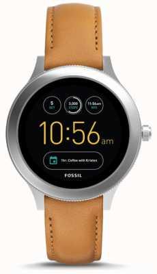 Fossil Unisexe q-venture génération 3 montre intelligente cuir beige FTW6007