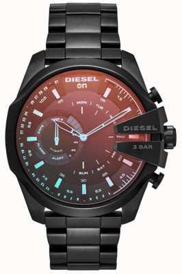 Diesel Mens megachief hybride smartwatch fer plaqué bracelet DZT1011