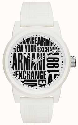 Armani Exchange Bracelet en silicone pour homme AX1442