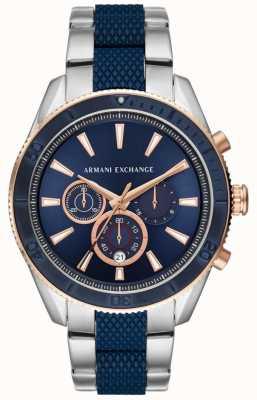 Armani Exchange Mens enzo bracelet en acier inoxydable AX1819