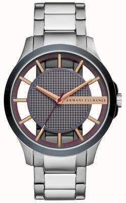 Armani Exchange Bracelet en acier inoxydable hampton pour homme AX2405
