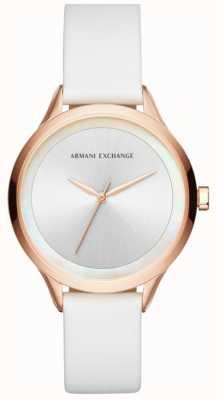 Armani Exchange Bracelet en cuir harper pour femme AX5604