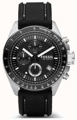 Fossil Bracelet en silicone pour homme CH2573IE