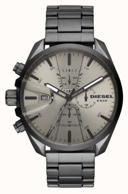Diesel Mens ms9 chrono bracelet en acier inoxydable DZ4484
