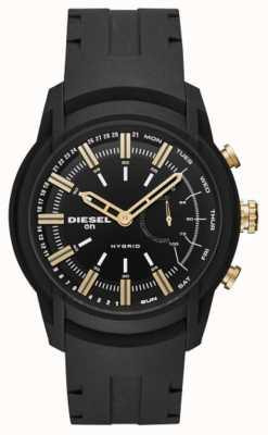Diesel Bracelet silicone hybride pour homme DZT1014