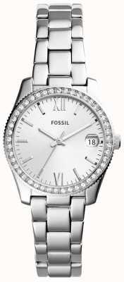 Fossil Womens scarlette bracelet en acier inoxydable ES4317