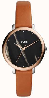 Fossil Bracelet en cuir jacqueline pour femme ES4378