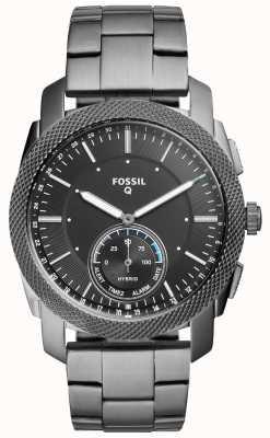 Fossil Unisexs q machine en acier inoxydable FTW1166