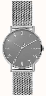 Skagen Mens signatur bracelet en maille d'acier inoxydable SKW6428