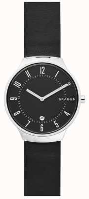 Skagen Bracelet en cuir de grenen pour homme SKW6459