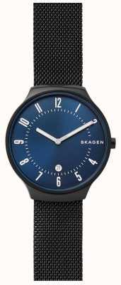 Skagen Mens grenen en acier inoxydable maille sangle SKW6461
