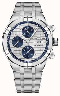 Maurice Lacroix Aikon chronographe automatique fabrication mouvement montre AI6038-SS002-131-1