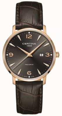 Certina Homme ds caimano 39mm or rose quartz C0354103608700