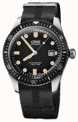 Oris Divers soixante-cinq automatique cadran noir noir bracelet 01 733 7720 4054-07 5 21 26FC
