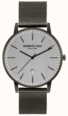 Kenneth Cole Montre classique en acier inoxydable gunmetal KC50009003