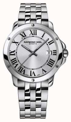 Raymond Weil Bracelet tango en acier inoxydable pour homme 5591-ST-00659