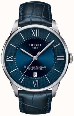 Tissot Mens chemin des tourelles powermatic 80 T0994071604800