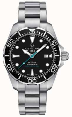 Certina Ds action divers homme powermatic 80 sea Turtle conservancy C0324071105110