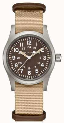 Hamilton Khaki champ mécanique nato sangle H69429901