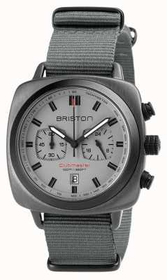 Briston Bracelet nato sport clubmaster gris 18142.SPG.SP.12.NG
