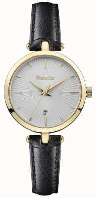 Barbour Womens adeline bracelet noir cadran argenté BB071SLBK