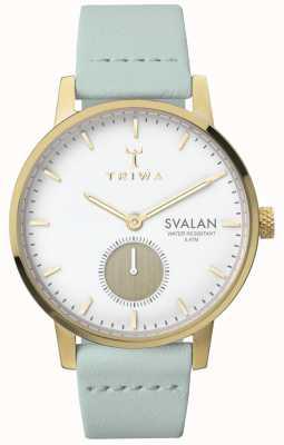 Triwa Femmes ivoire svalan menthe classique super mince TR.SVST105-S111313