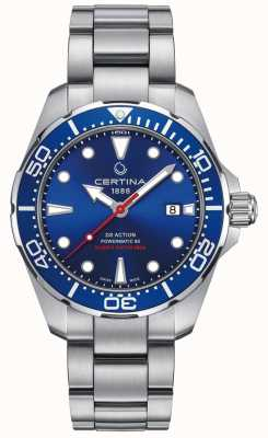 Certina Hommes DS Action Diver Powermatic 80 Automatic C0324071104100