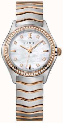 EBEL Bracelet en nacre avec deux diamants et diamants 1216325