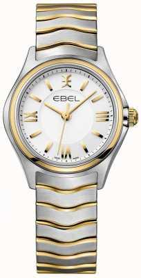 EBEL Bracelet femme blanc avec deux tons ton or et argent 1216375