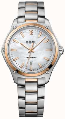 EBEL Decouverte femme nacre bicolore or rose 1216396