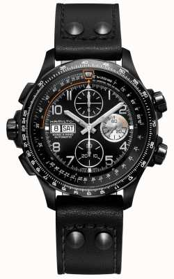 Hamilton | avaiation kaki | x-vent | chronographe automatique | H77736733