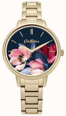 Cath Kidston Cadran doré imprimé floral CKL050GM