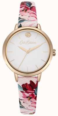 Cath Kidston Cadran blanc imprimé floral rose CKL064PRG