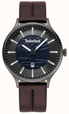 Timberland Cadran en cuir marron pour homme TBL.15488JSU/03