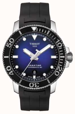 Tissot Seastar 1000 powermatic 80 gomme noire automatique T1204071704100