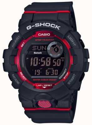 Casio Traceur de pas bluetooth noir / rouge G-squad GBD-800-1ER
