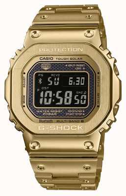Casio Premium Acier plaqué or solaire Bluetooth bluetooth radiocommandé G-shock GMW-B5000GD-9ER