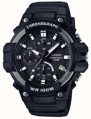 Casio Core chronographe de sport noir wr100m MCW-110H-1AVEF