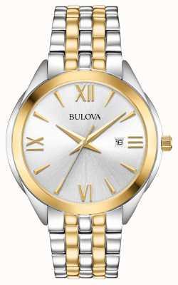 Bulova Montre homme bicolore en acier inoxydable 98B331