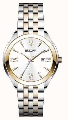 Bulova Montre femme en acier inoxydable deux tons 98B331