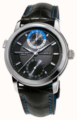 Frederique Constant Fabrication hybride 3.0 bracelet smartwatch automatique noir FC-750DG4H6