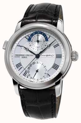 Frederique Constant Fabrication hybride 3.0 bracelet smartwatch automatique noir FC-750MC4H6