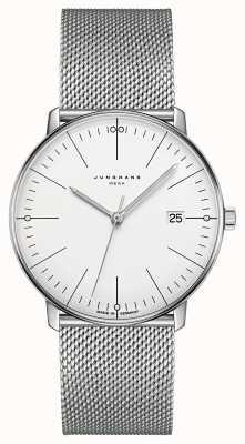 Junghans Max facture méga mf milanese bracelet en acier inoxydable 058/4821.44
