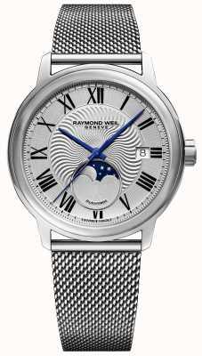 Raymond Weil Mens maestro moonphase montre bracelet en acier inoxydable 2239M-ST-00659