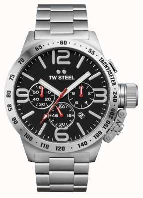 TW Steel Cantine homme 50mm chronographe inox CB8