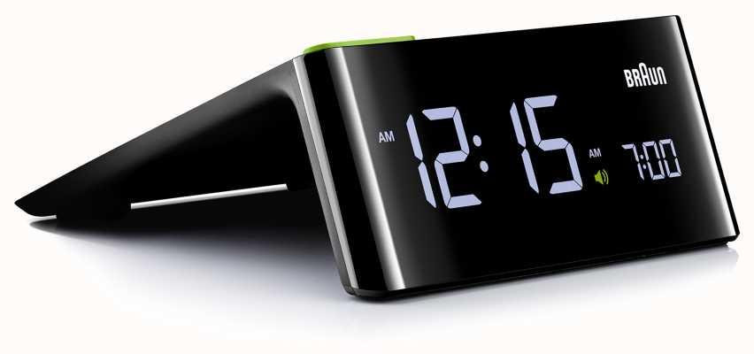 Braun Réveil numérique de chevet | affichage LCD BNC016BKUK