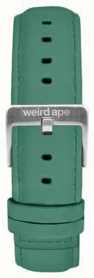 Weird Ape Jade vert daim 16mm bracelet en argent boucle ST01-000060