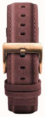 Weird Ape Bracelet en cuir rose pastel 16mm boucle en or rose ST01-000033