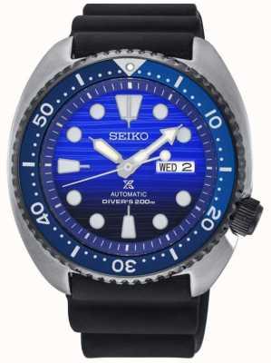 Seiko Mens save the ocean édition spéciale bracelet en caoutchouc prospex SRPC91K1